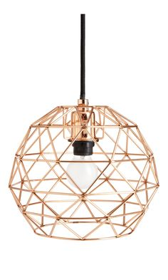 Cage - Suspension Copper - Habitat