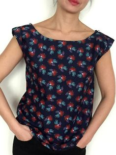 Blouse Sirocco Liberty – My Dress Made