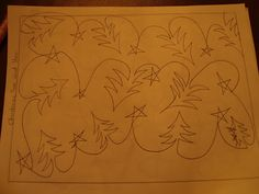 This is a free motion quilting pattern but might make a good embroidery design, too. (My Quilting Journey: Sew Cal Gal's 2012 FMQ Challenge - March)