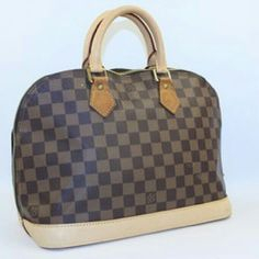 """""""Alma  Vachetta Brown Satchel    BG-#5651473"""" Louis Vuitton Alma  Discoloration on exterior bottom of bag.  Overall, bag is in great condition. Louis Vuitton Bags Satchels"""