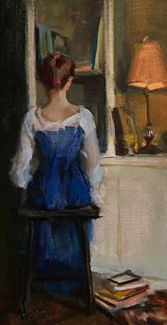 """The Reading Nook"" by Johanna Harmon"