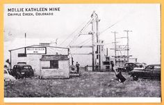 1930 ? Mollie Kathleen Mine, Cripple Creek Colorado CO, gold mined until 1961