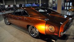1969 Charger R/T with a hemi Dream car for most people