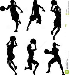 Basketball Female Silhouettes - Download From Over 28 Million High Quality Stock Photos, Images, Vectors. Sign up for FREE today. Image: 11563886