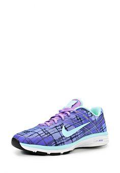 Кроссовки Nike / Найк женские. Цвет: синий. Материал: полимер, текстиль. Сезон: Весна-лето 2014. С бесплатной доставкой и примеркой на Lamoda. http://j.mp/1mZg7G7