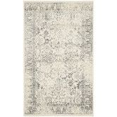 Found it at Wayfair - Adirondack Ivory / Silver Area Rug   (8x10) $215.74   (6x9 $127) o/s til 09/15