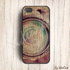 colorful rainbow camera on wood iphone 5 casecamera by IdeaCase, $16.00