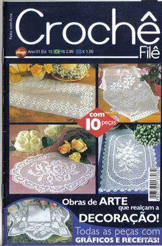 Crochet File, Ano 01 Ed.13 (Feitco com Arte) - lee ann hamm - Picasa Web Albums