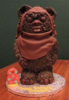 ewok cake