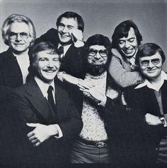 Society of Illustrators, Faculty of the Illustrator's Workshop, 1977. (L to R): Bob Peak, Bernie Fuchs, Mark English, Alan Cober, Bob Heindel and Fred Otnes
