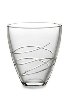 "Waterford Crystal Ballet RIBBON 6"" Pocket Vase CRYSTAL NEW  #WaterfordCrystal"