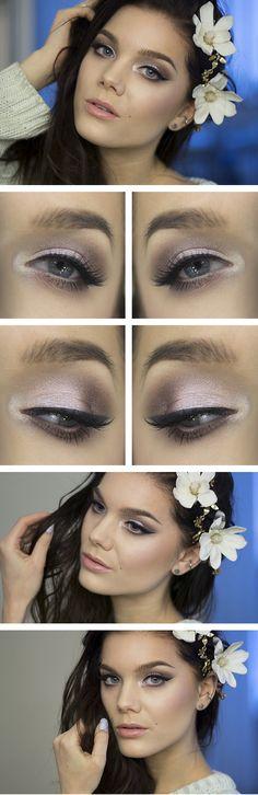 Purple eyes for a wedding perhaps?