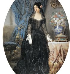 Marie Duplessis. Jean Charles Olivier (1840)
