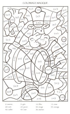 Home Decorating Style 2020 for Coloriage Magique Cp Maths, you can see Coloriage Magique Cp Maths and more pictures for Home Interior Designing 2020 at Coloriage Kids. Math Division Worksheets, Kids Math Worksheets, Math Activities, Math Classroom, Kindergarten Math, Teaching Math, Math Pages, Math Multiplication, Color By Numbers