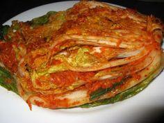 Resep Kimchi Masakan Korea Sehat Asian Recipes, Healthy Recipes, Ethnic Recipes, Korean Kimchi, Homemade Pancakes, Fermented Foods, Korean Food, Lasagna, Healthy Lifestyle