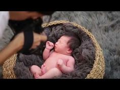 Behind the Scenes with 5 week Newborn Baby Boy and Ana Brandt - YouTube