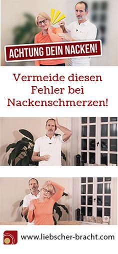 Dein Nacken schmerzt? Wir zeigen dir, welchen Fehler du bei Nacken - Schmerzen vermeiden solltest und zeigen dir Übungen, die dir dabei helfen können, deine Nackenschmerzen zu lösen. Außerdem findest du eine Erklärung zur Entstehung der Nackenbeschwerden. #nacken #schmerzen #nackenbeschwerde #nackenschmerzen #selbsthilfe #hausmittel | Hausmittel bei Nackenschmerzen, Kopfschmerzen, Ursachen von Nackenbeschwerden |
