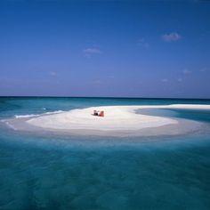Sandbank Dining, Banyan Tree Vabbinfaru, Maldives