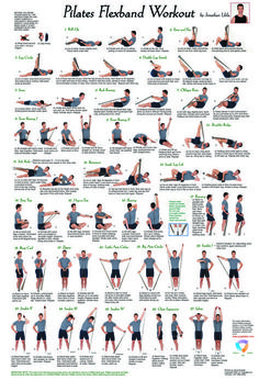 """Color illustrated poster with a complete workout of twenty-seven different Pilates exercises. Made of aqueous paper that holds up to folds without ripping and resists smudges. Comes in re-sealable plastic bag for easy travel.Dimensions: 17""""x 25"""""""