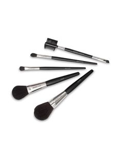 Mary Kay® Brush Collection – This luxurious makeup brush set includes a powder brush, cheek brush, eye color brush, eye crease brush and eyeliner/eyebrow brush – all with handcrafted handles for maximum control.