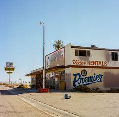 Video Rentals Salton Sea par sarahbastin sur Etsy Vintage Landscape, City Landscape, Aesthetic Vintage, Aesthetic Photo, Film Photography, Street Photography, Stephen Shore, Salton Sea, Desert Dream