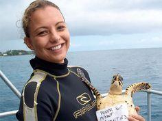 Phoot: Mariana Fuentes  Marine biologist interview