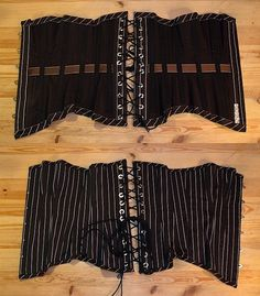 craft magazine corset step by step! very detailed (but kind of low cut)