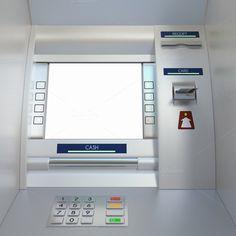 Generic ATM machine by PaketeCat on @creativemarket