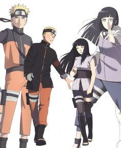 Naruto x Hinata Naruhina, Naruto Sasuke Sakura, Naruto Shippuden Sasuke, Hinata Hyuga, Naruto Art, Uzumaki Family, Naruto Family, Naruto Couples, Naruto Girls