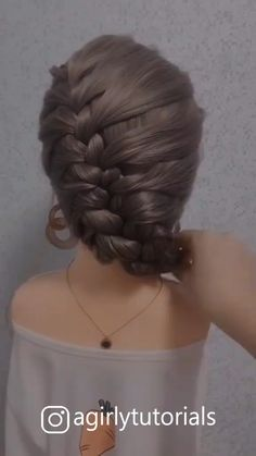 Easy Hairstyles For Medium Hair, Step By Step Hairstyles, Pretty Hairstyles, Cute Hairstyles, Wedding Hairstyles, Front Hair Styles, Short Hair Styles Easy, Medium Hair Styles, Hair Medium