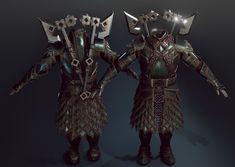 ArtStation - Dwarf Dwalin Realtime Fan art Unreal engine 4 , Baolong Zhang