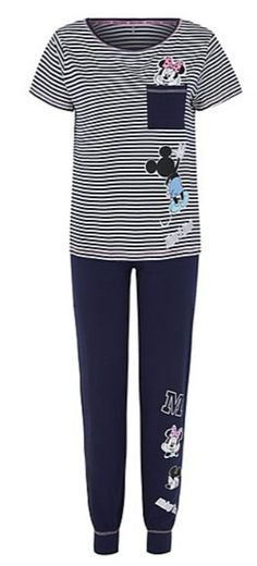 Disney Mickey and Minnie Mouse Pyjama Set