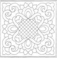 New Quilting Designs Patterns 57 Ideas Machine Quilting Patterns, Embroidery Patterns, Quilt Patterns, Machine Embroidery, Stencil Patterns, Quilting Stencils, Quilting Templates, Quilting Projects, Quilting Ideas