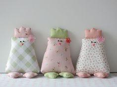 Tutorial fai da te: Come fare dei pulcini pasquali in tessuto  via DaWanda.com