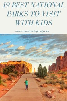 19 best us National parks to visit with kids! Find the best USA National Parks to visit with families whatever region you are in! From finding Family Friendly National Park Hikes to best things to do in National parks for kids! Hiking With Kids, Travel With Kids, Family Travel, Family Vacations, Best Us Vacations, Toddler Travel, Family Trips, Summer Travel, Tahiti