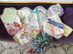 Pretty Vintage Handkerchief Lot from Rustysecrets by rustysecrets, $20.00