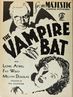 Scott Lord: The beautiful Fay Wray in The Vampire Bat