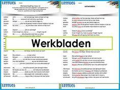 Website met allerlei werkbladen.    Lessuc6.nl - Home