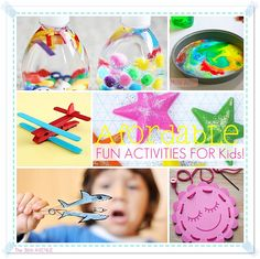 afordable and fun kid activities cute kids crafts - Fun Kid Pictures