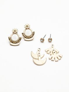 Free People Ear Jacket Earring Set at Free People Clothing Boutique