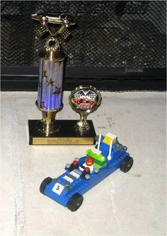 Lego Car for Pinewood Derby