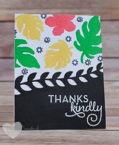 Botanical Garden stamp set from Stampin' UP! featured on this card created by Wendy Cranford www.luvinstampin.com