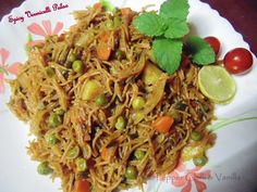 Spicy Vermicelli Pulao