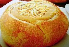 Creme de Abóbora no Pão Italiano. www.facebook.com/hulalacremesechantilly