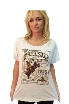 5175566e4 Country Deep Women's Lane Frost Takin' Care of Business Rodeo Tribute T- Shirt