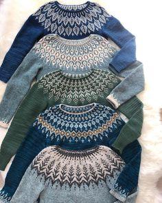 Knitting sweaters fair isles 56 new ideas Fair Isle Knitting Patterns, Fair Isle Pattern, Knit Patterns, Stitch Patterns, Punto Fair Isle, Icelandic Sweaters, Fair Isles, Free Knitting, Sock Knitting