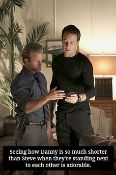 McDanno: The one-head-shorter trope in living colour. It is completely adorable:-)