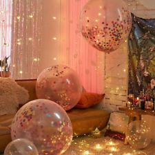 Find Great Deals For 36 1Pc Clear Confetti Filled Balloon Heart Birthday Party Supply Wedding Decor Shop With Confidence On EBay