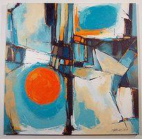 Abstract Paintings by Artist Boski Sztuka | Beautiful painting