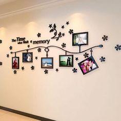 10 Kreative Ideen Die Wände Mit Bilderrahmen Zu Dekorieren!